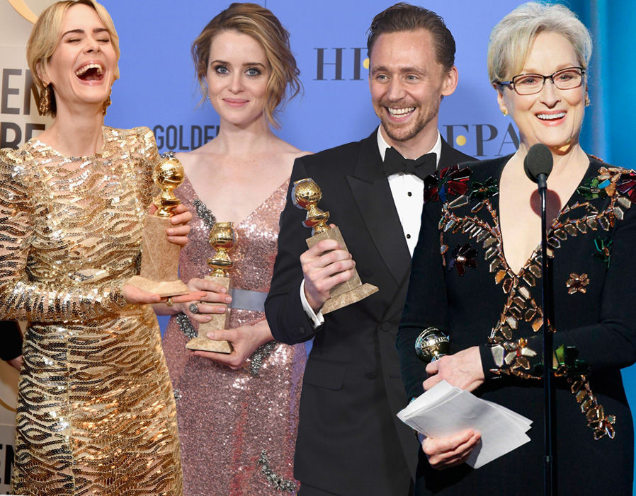 Full list of Golden Globes winners